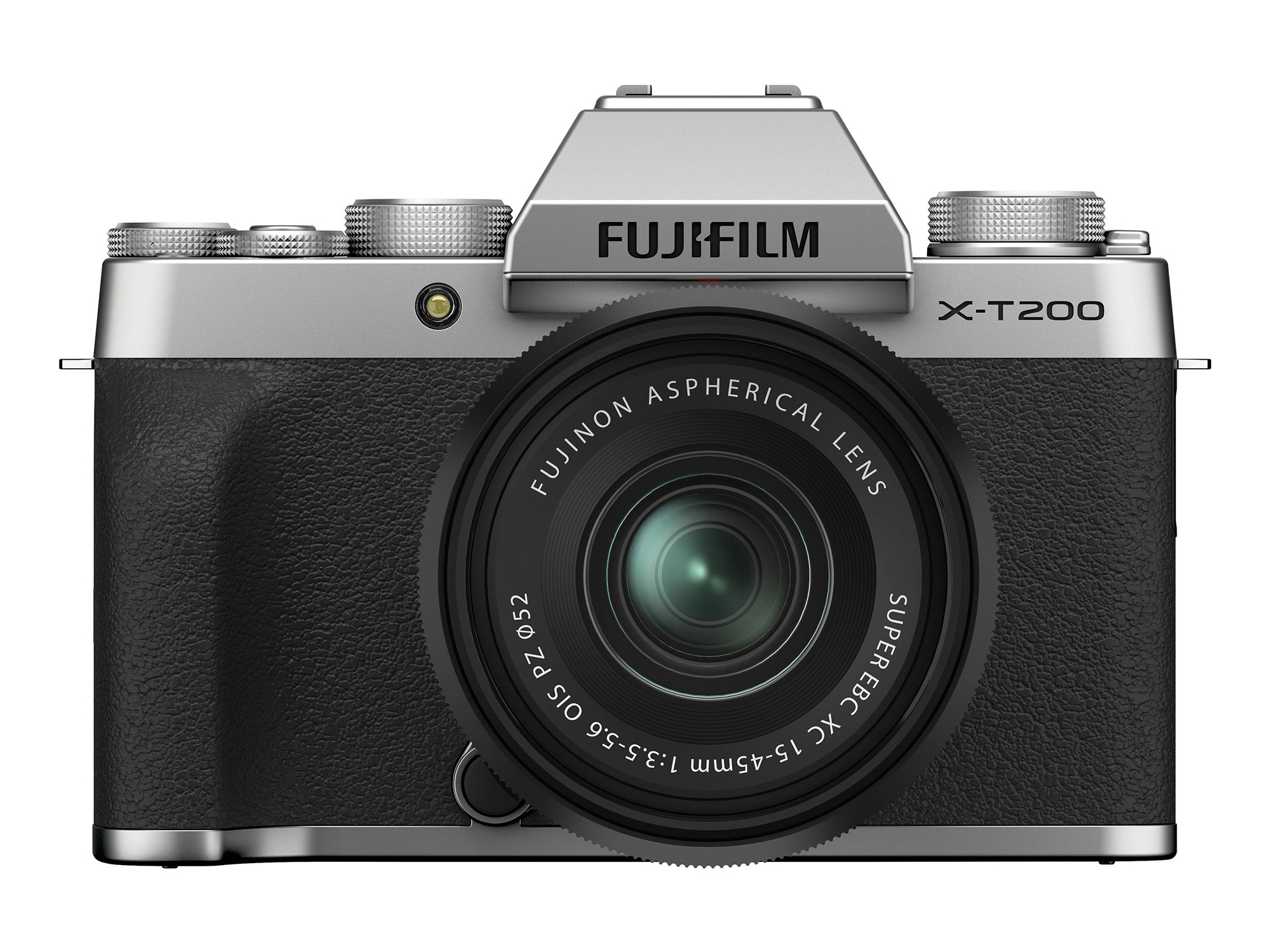 FUJIFILM X-T200 Mirrorless Digital Camera with 15-45mm (Silver)