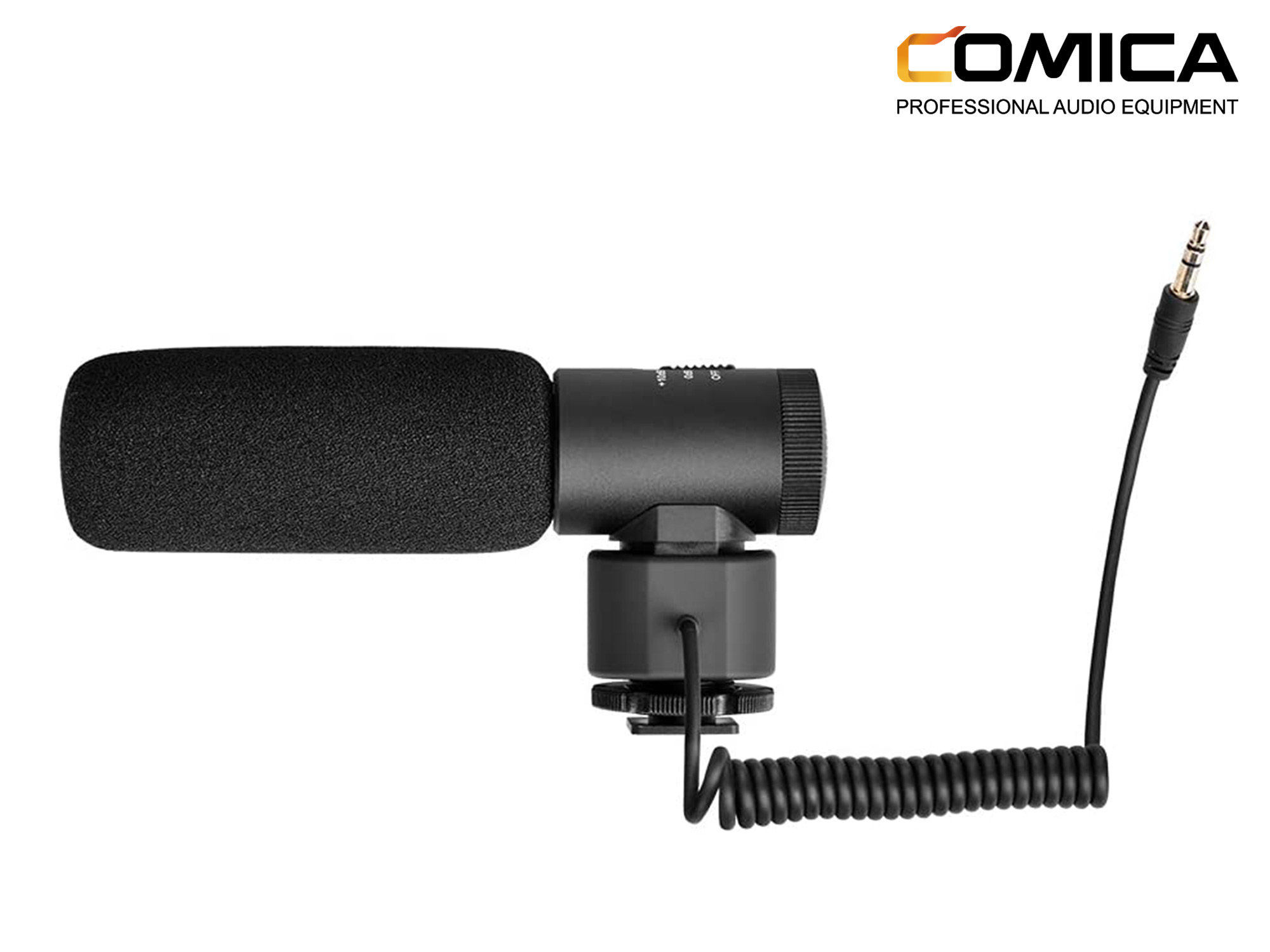 Comica CVM-V20 Directional On-Camera Shotgun Microphone