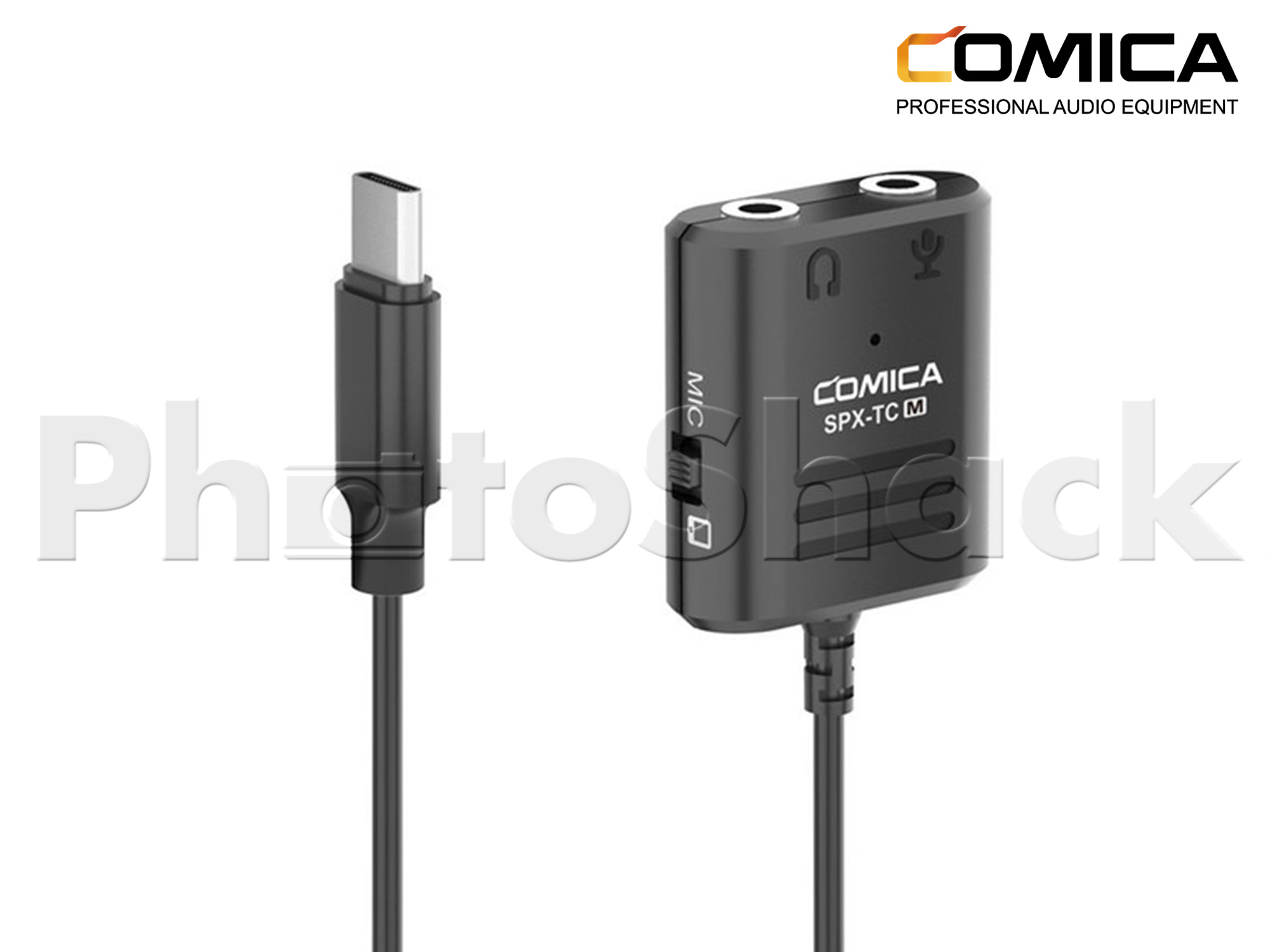 Comica Audio CVM-SPX-TC(M) 3.5mm TRS/TRRS to USB Type-C to Female Adapter Cable