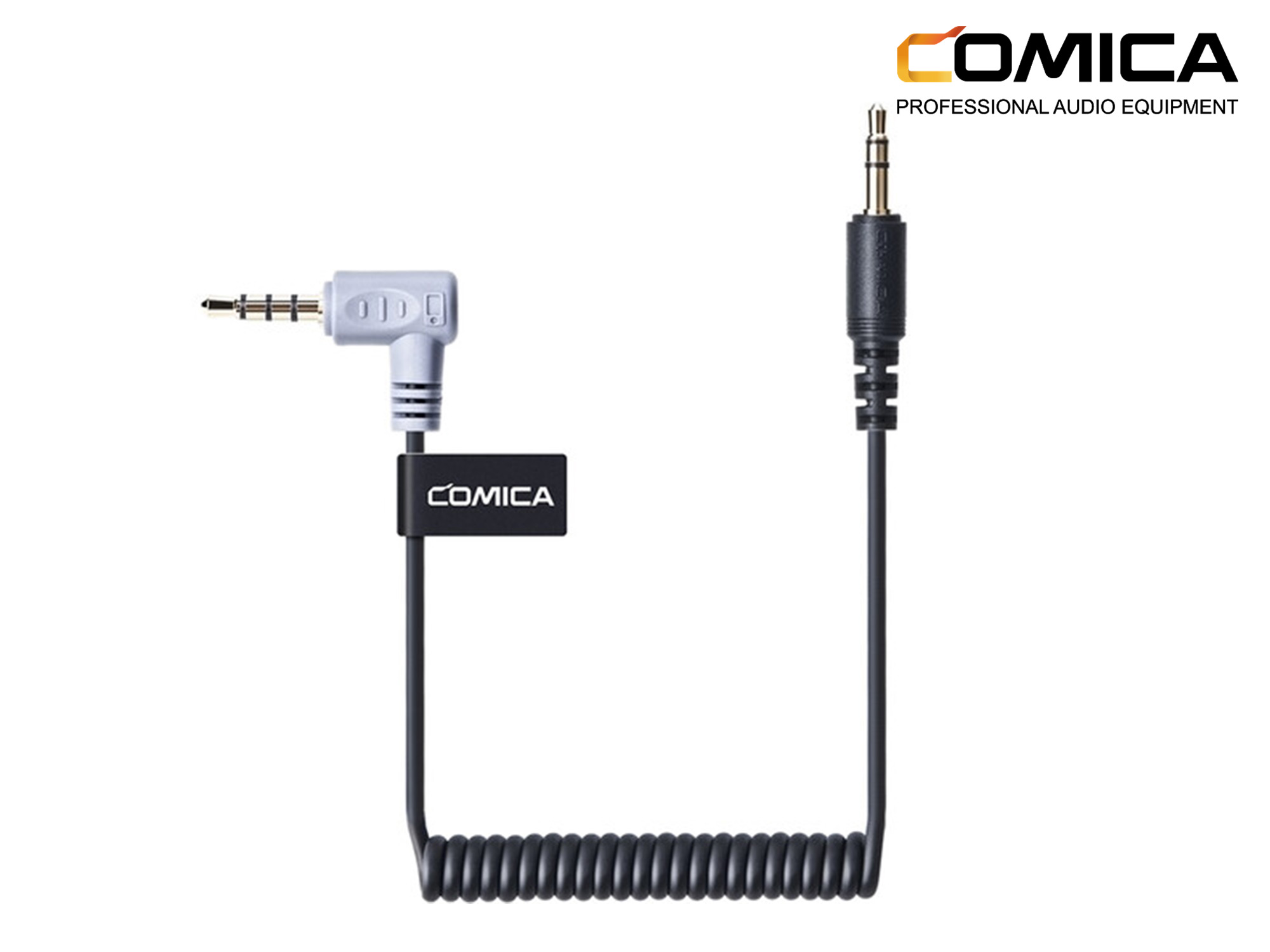 Comica Audio 3.5mm TRS -TRRS Audio Cable for Smartphone