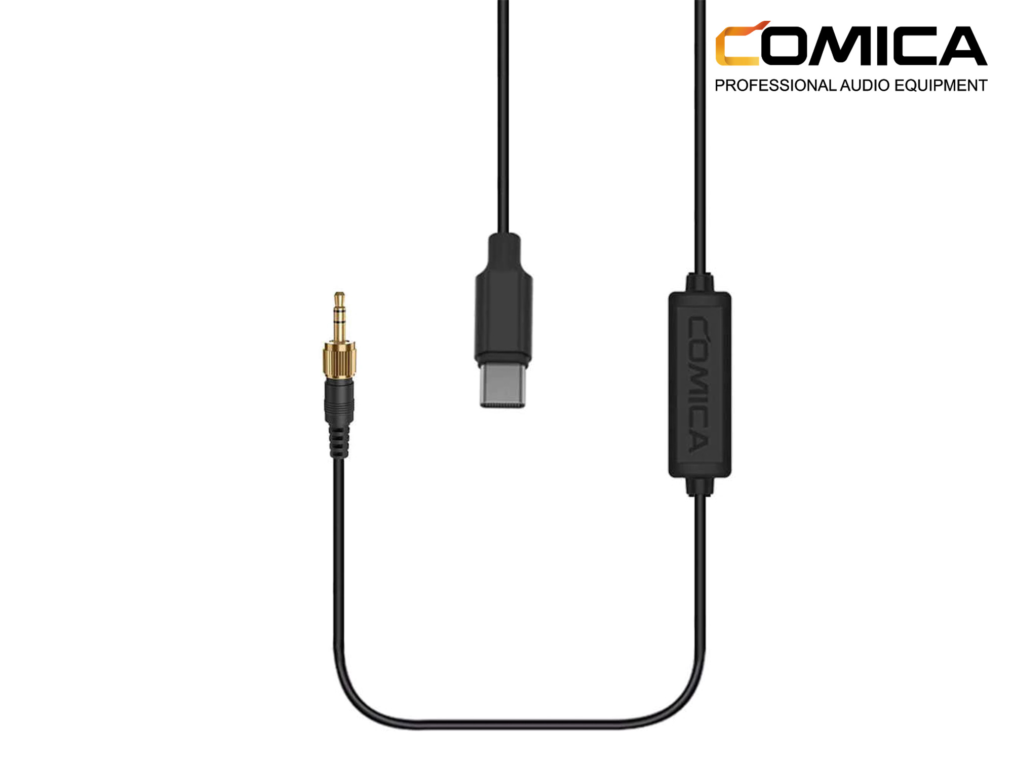 Comica Audio 3.5mm TRS Male to USB Type-C Output Cable for Audio to Android