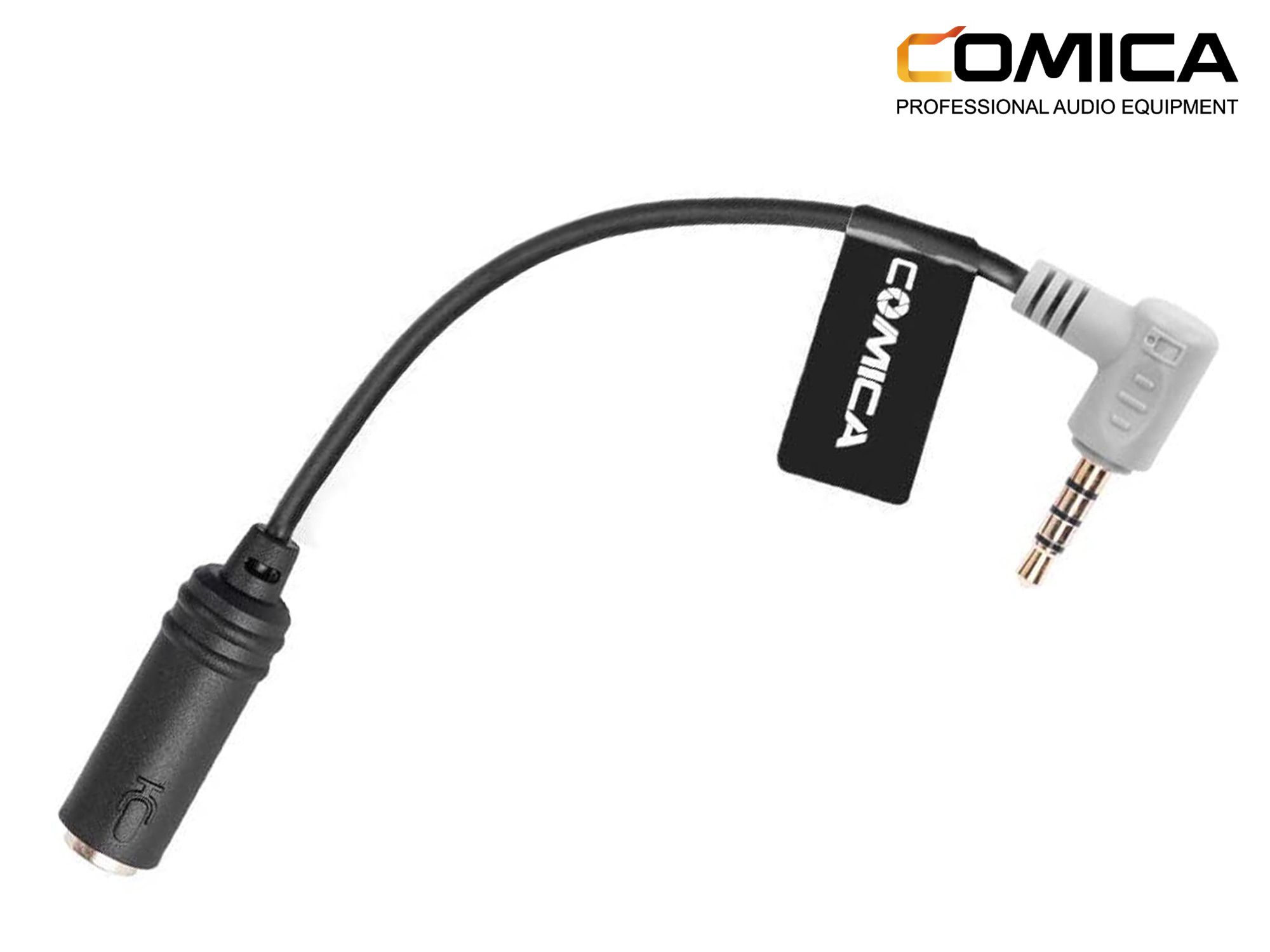 Comica Audio TRS-TRRS Audio Cable Adapter For Smartphone