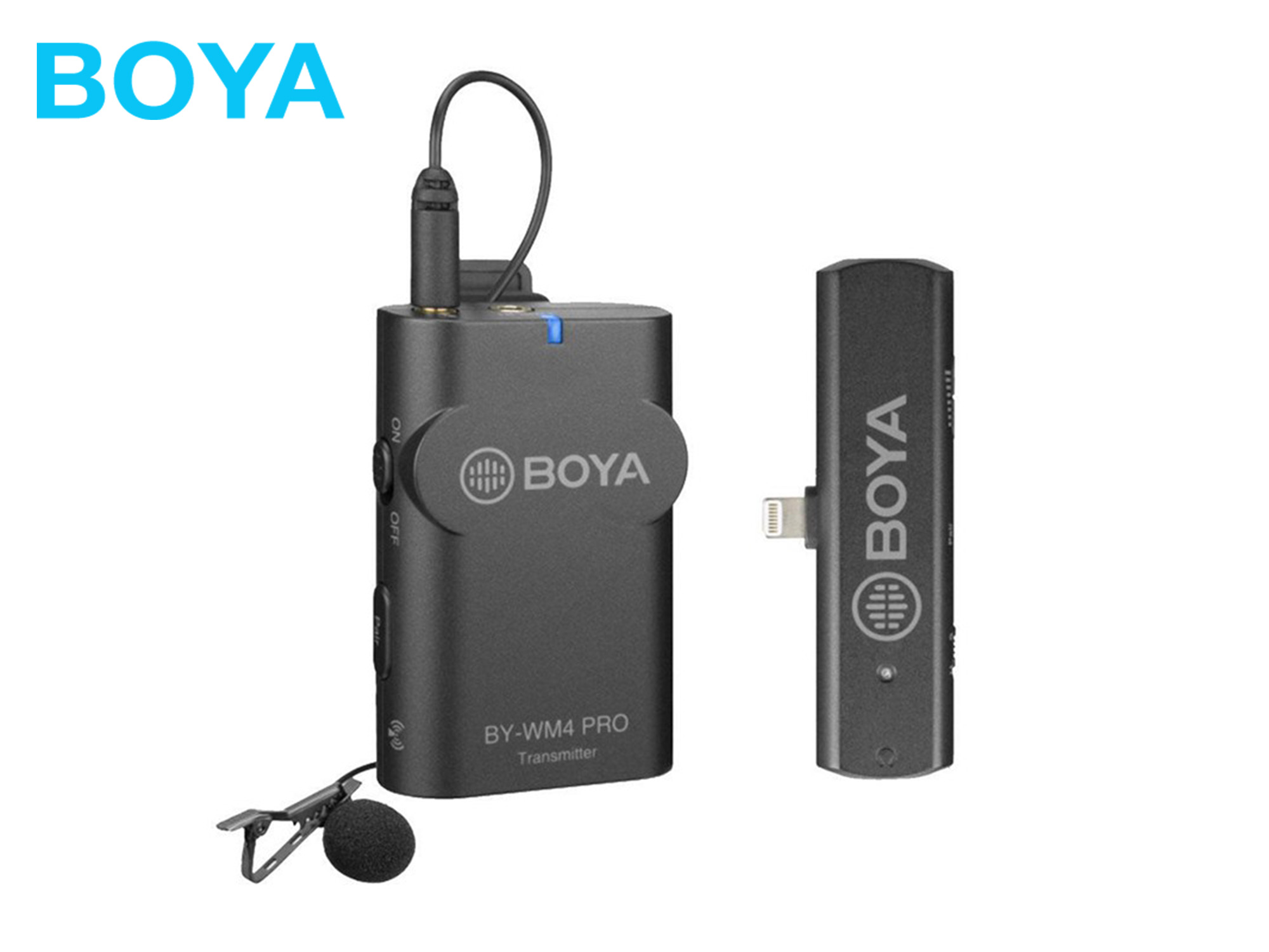 Boya BY-WM4 PRO K3 2.4 GHz Wireless Microphone System For iOS devices