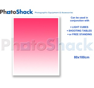 Gradated Paper Background Pink 100x80