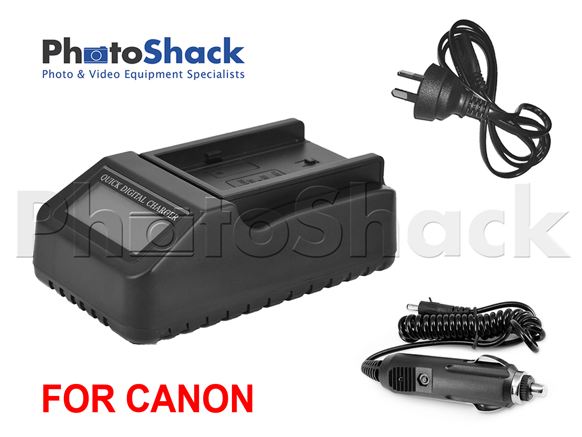Multifunction Digital Charger with LCD Display For Canon