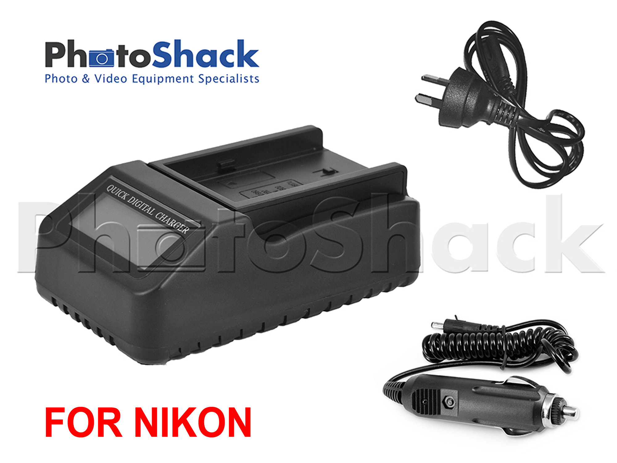 Multifunction Digital Charger with LCD Display For Nikon