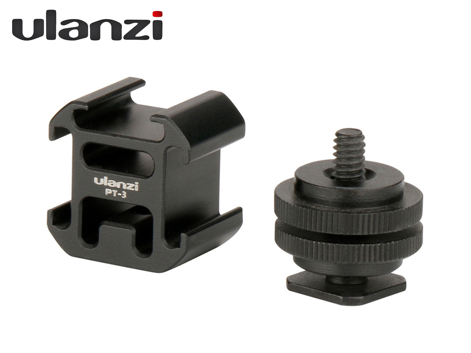 Ulanzi Triple Cold Shoe Camera Mount