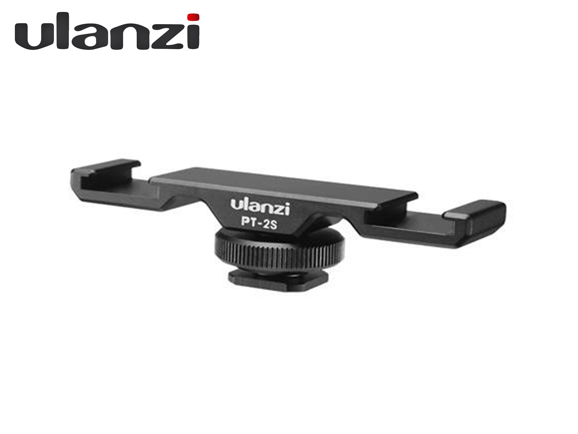 Ulanzi Dual Cold Shoe Mount Plate Small