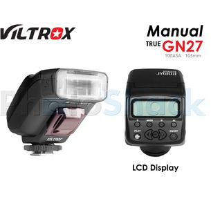 Viltrox JY 610II Speedlite Mini (Manual) with LCD screen