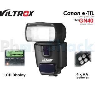 Speedlight Flash e-TTL for Canon JY-620C Viltrox