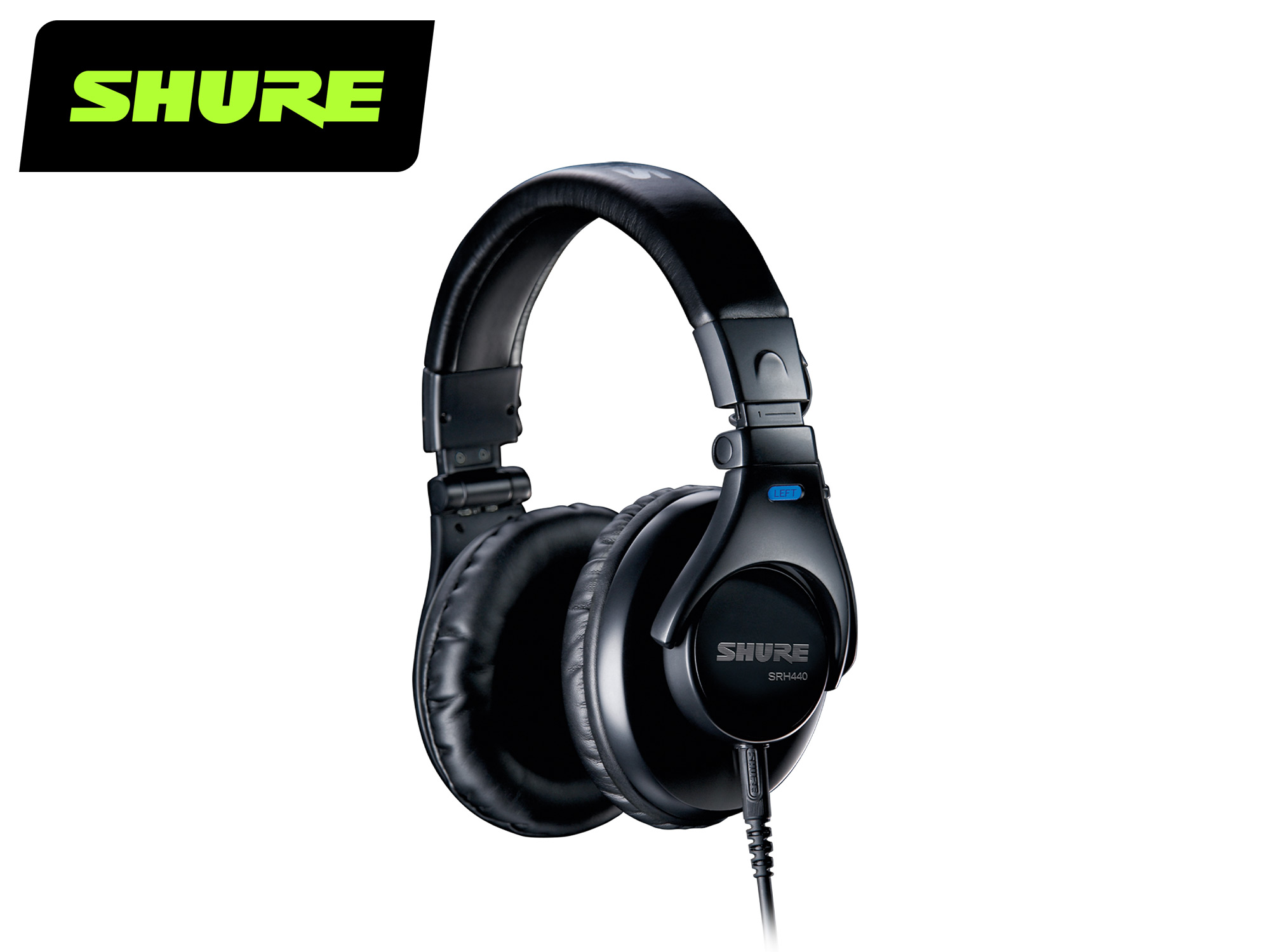 Shure SRH440 Professional Monitoring Headphones