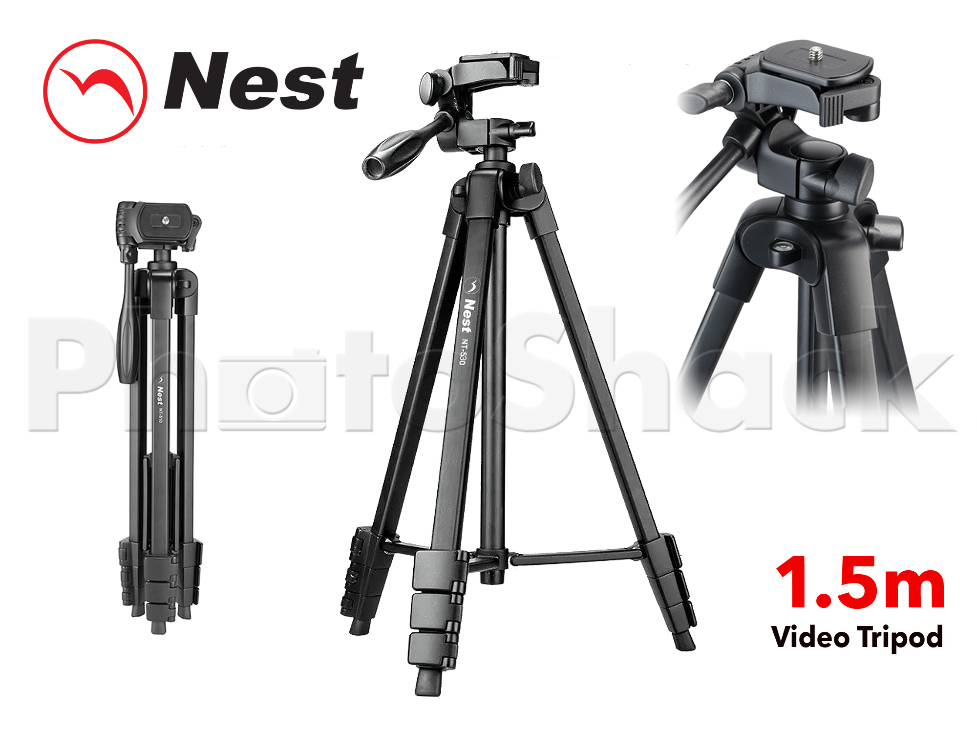 TRIPOD PHOTO/VIDEO NT530 - 1.5m