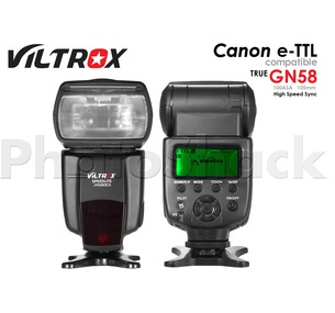 Speedlite Flash with High Speed Sync for Canon Viltrox JY-680CH