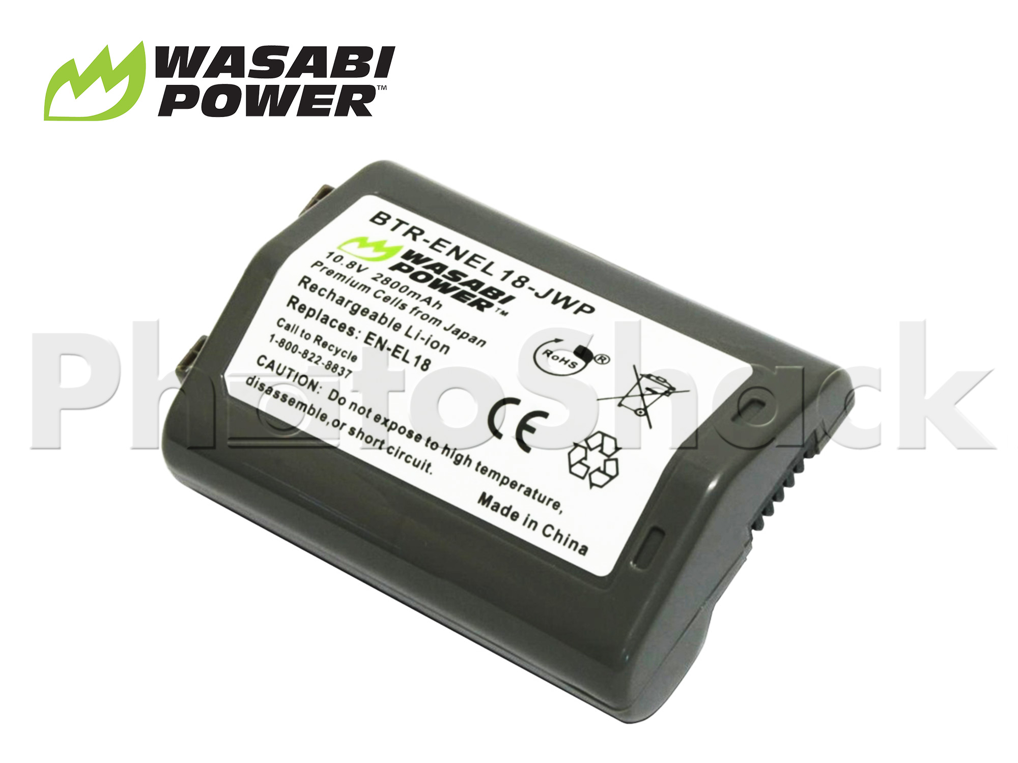 ENEL18 Battery for Nikon - Wasabi Power