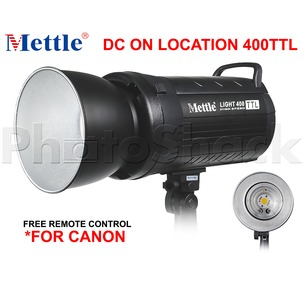 Mettle Location High Speed TTL Light 400W for Canon
