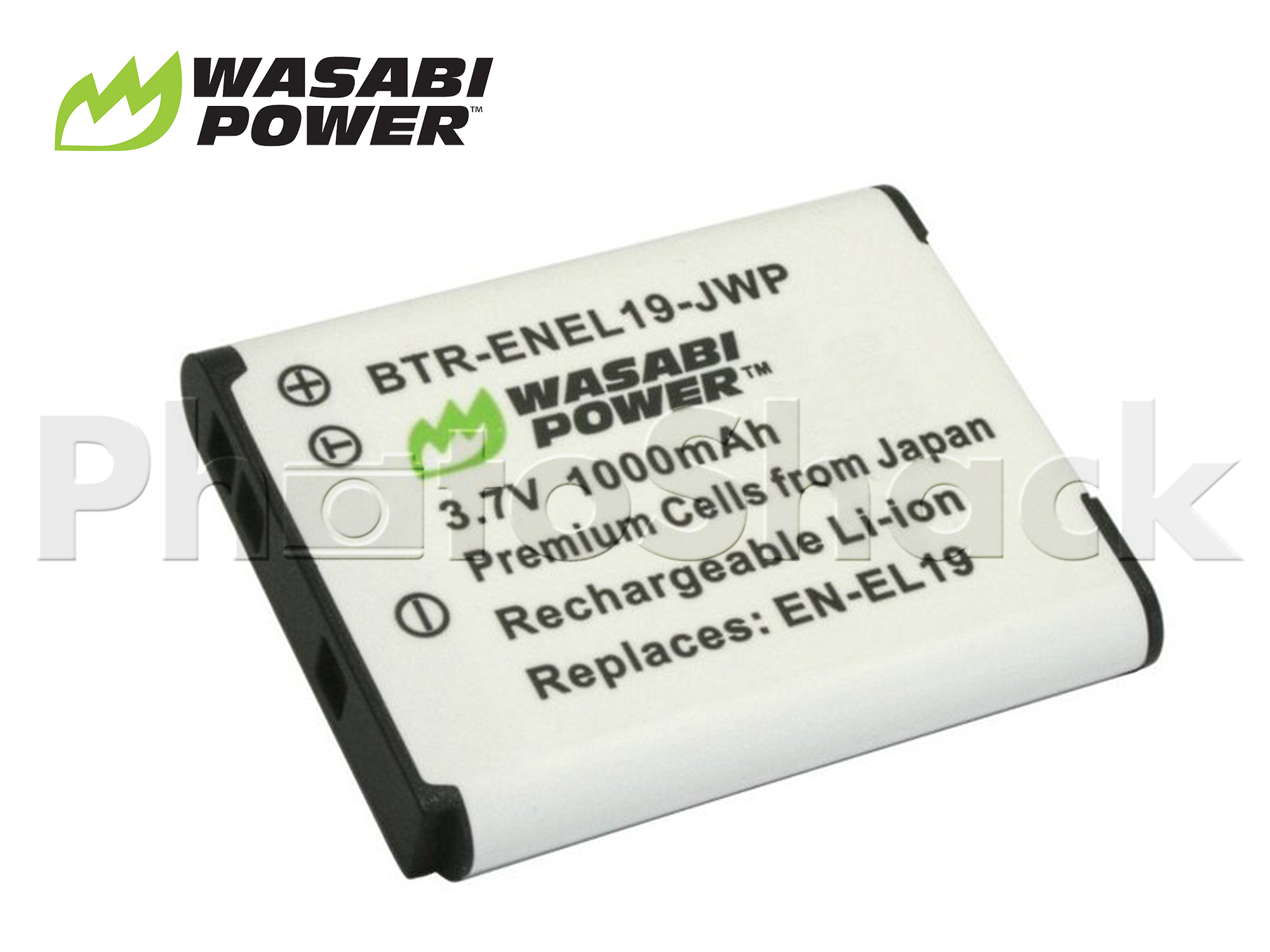 ENEL19 Battery for Nikon - Wasabi Power