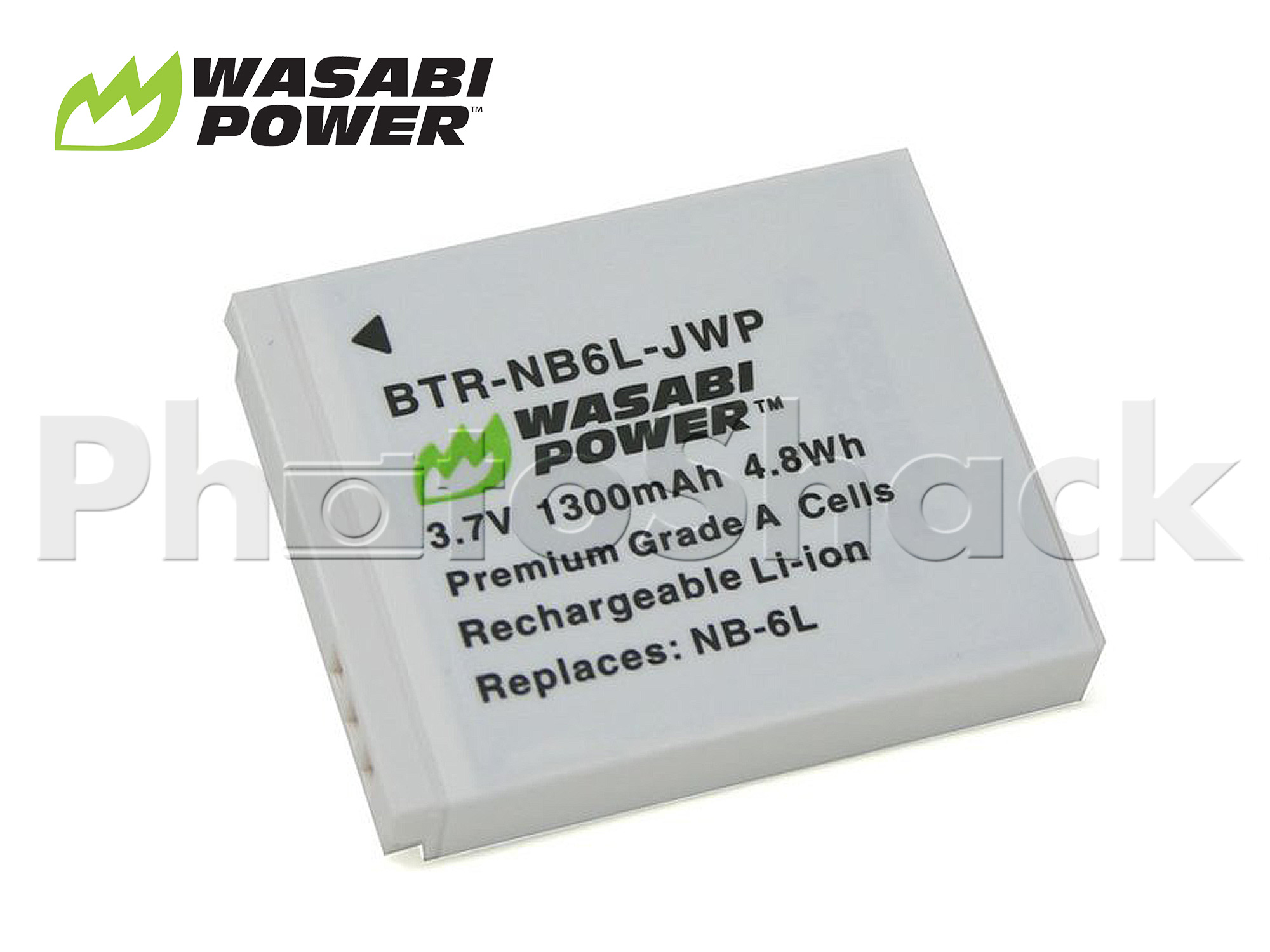 NB-6L Battery for Canon - Wasabi Power