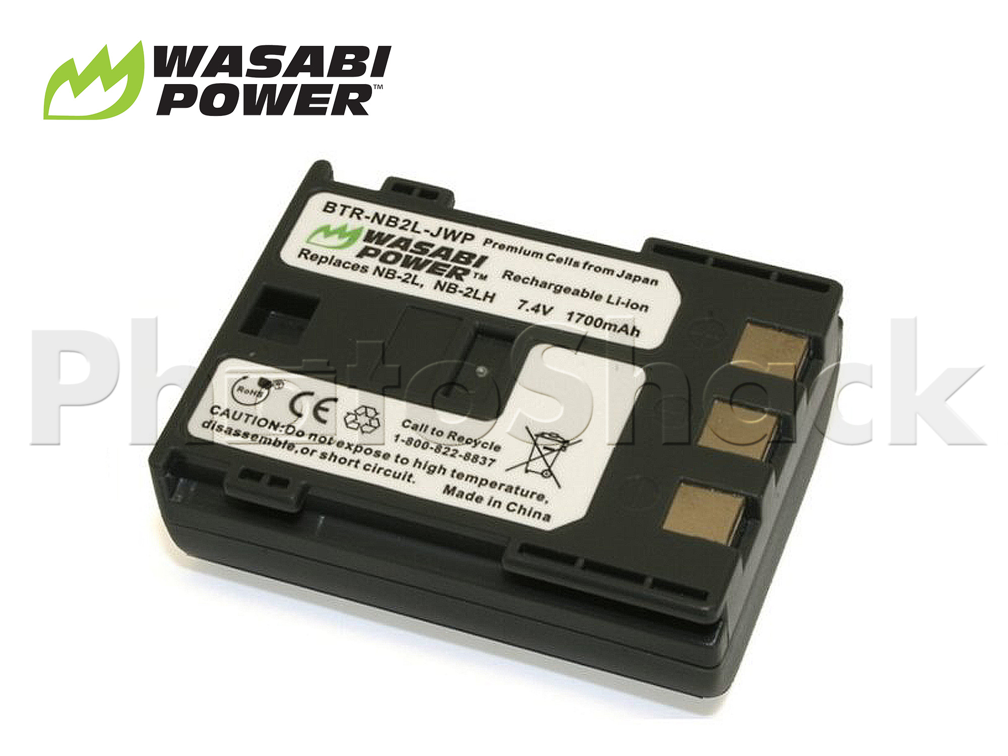 NB-2L Battery for Canon - Wasabi Power