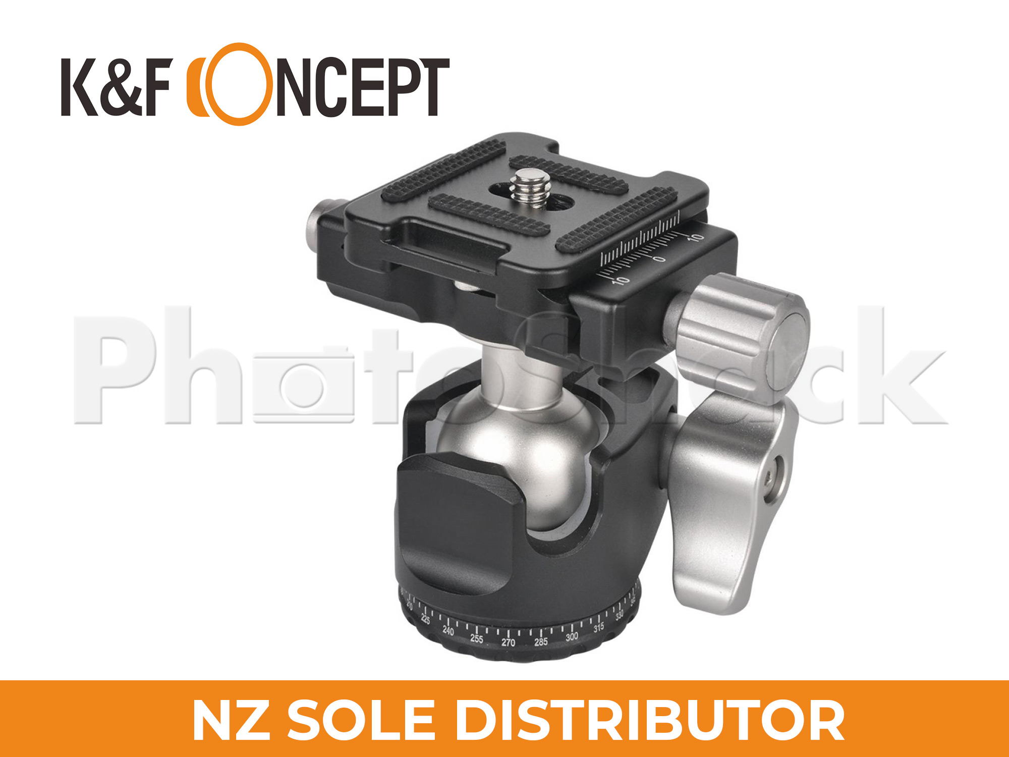 K&F Concept 25mm ball head for Tripod & Monopod