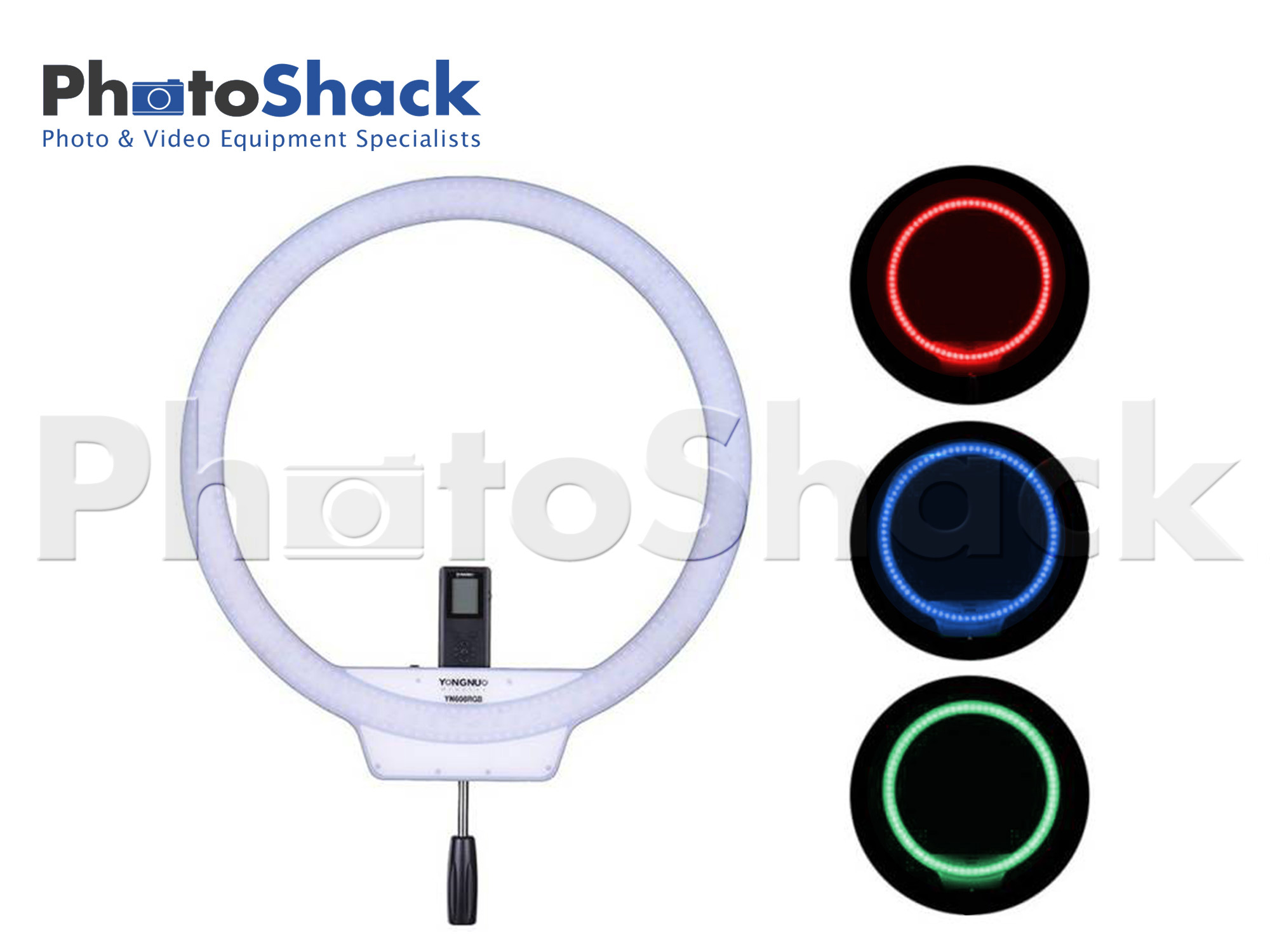 YN608 RGB Bi-Color LED Wireless Ring Light