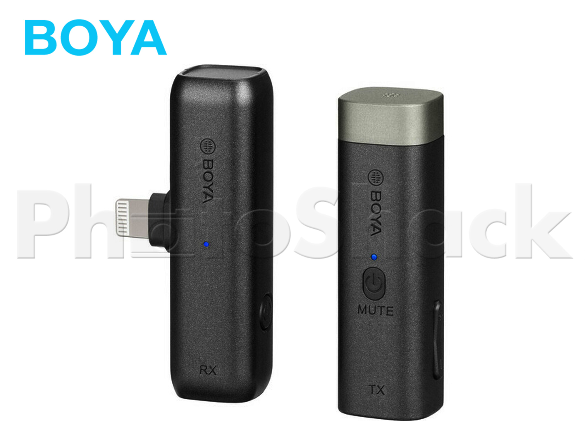 BOYA BY-WM3D Digital True-Wireless Microphone System for iOS Devices