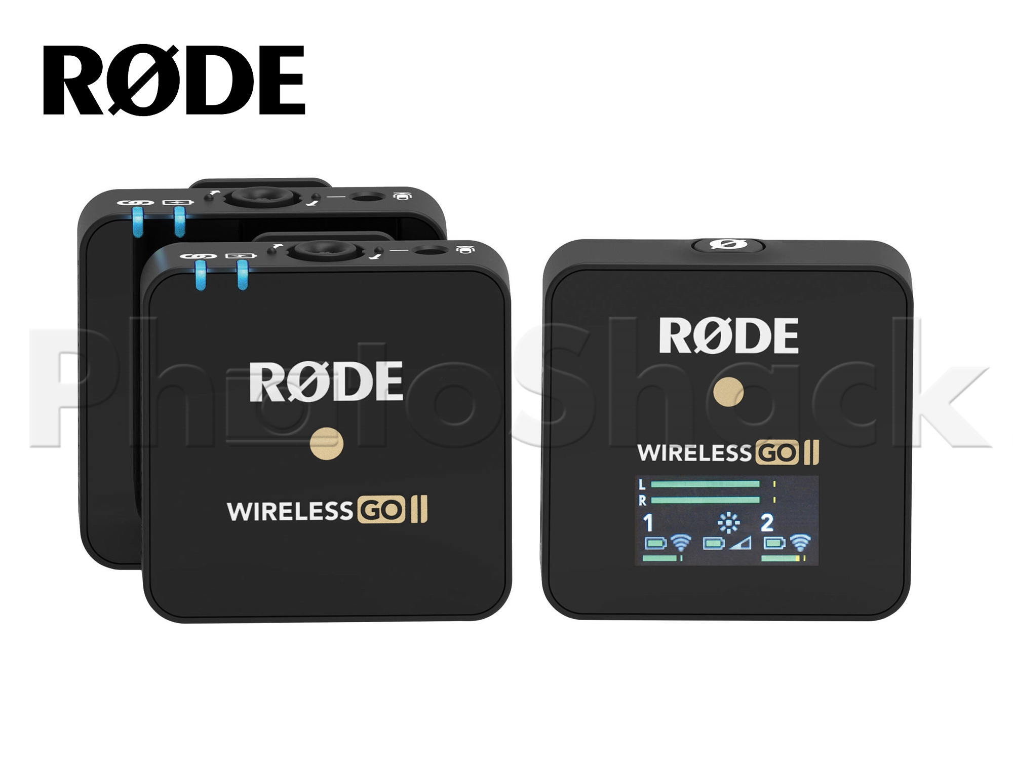 Rode Wireless GO II Compact Wireless Dual Microphone System