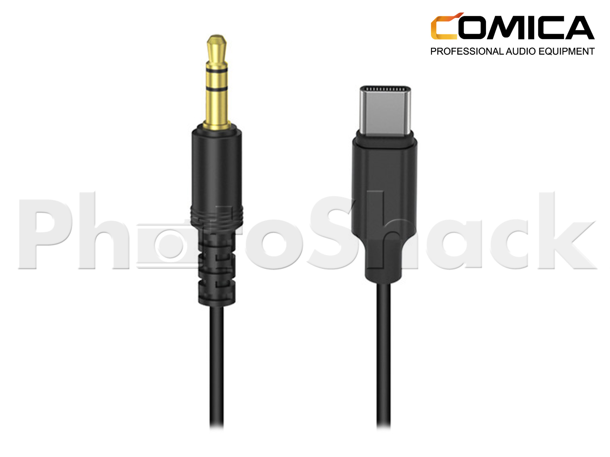 Comica Audio 3.5mm TRS Male to USB-C Output Cable for Audio to Android