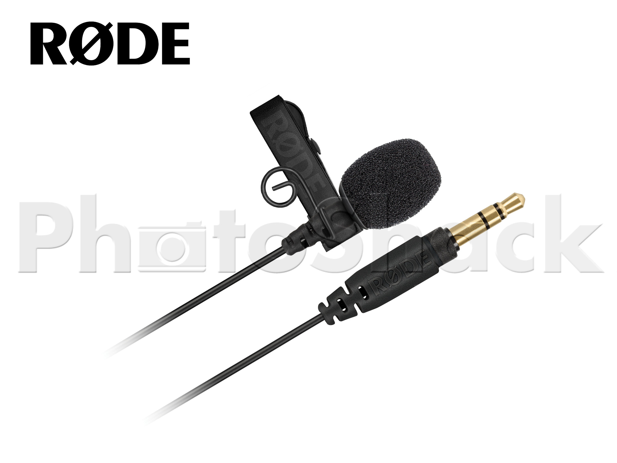 Rode Lavalier GO Omnidirectional Lavalier Microphone for Wireless GO Systems (with free Magnetic clip)