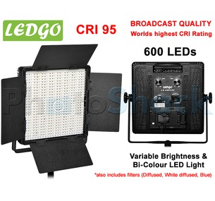 LEDGo 600 LED Studio Light - Bi-Colour - 600CSC