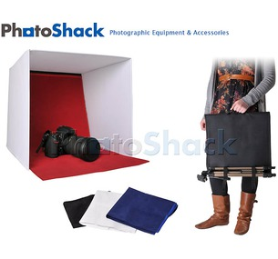 LIGHT CUBE BOX with 4 backgrounds 60x60cm