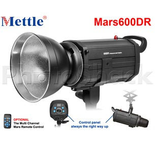 Studio Flash - 600W - Mettle Mars 600DR