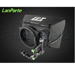 Matte Box Set with Barn Doors - Carbon Fibre - LanParte