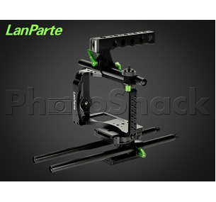 Lanparte Mirrorless Camera Cage Kit for Panasonic GH4 & Sony A7 Cameras
