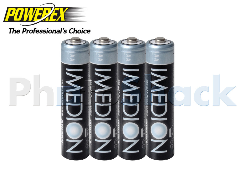 Maha IMEDION AAA Batteries - 950mAh 4pack