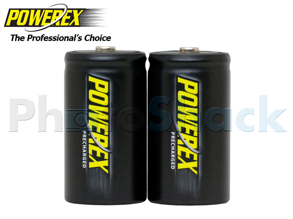 Maha Powerex PRECHARGED - D Batteries - 10,000mAh 2pack