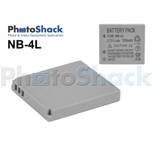 NB-4L Rechargeable Battery for Canon Cameras