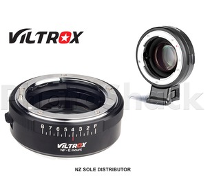 Viltrox NF-E mount Focal Reducer Speed Booster Lens Adapter Nikon F AI to Sony E Mount
