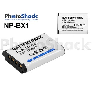 NP-BX1 Camera Battery for Sony RX100 series