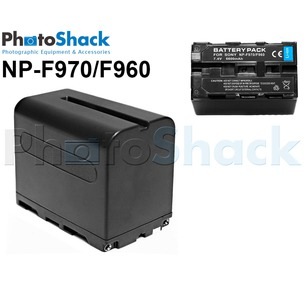 NP-F970/F960 Rechargeable Lithium Ion Battery