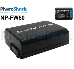 NPFW50 Rechargeable Battery for Sony