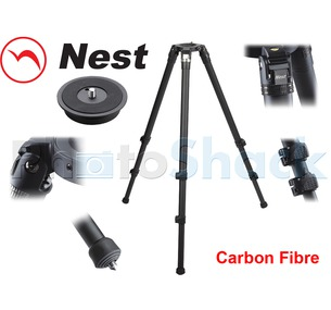 Nest Systematic 28mm Tripod Legs Carbon Fibre