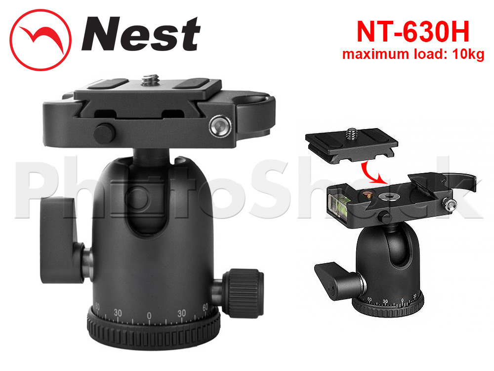 Tripod - Nest Ball Head 10kg Load (with QR plate)