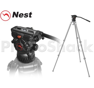 Fluid Video Tripod Head - Nest NT-663H