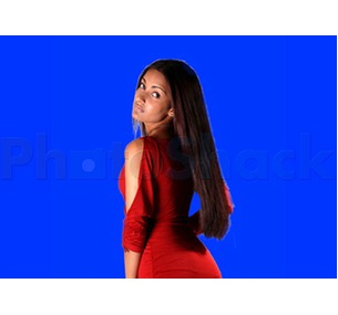 CHROMA KEY BLUESCREEN BACKDROP 6m