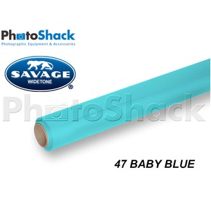 SAVAGE Paper Background Roll - 47 Baby Blue