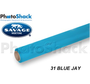 SAVAGE Paper Backdrop Roll - 31 Blue Jay