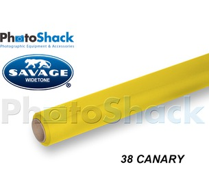 SAVAGE Paper Backdrop Roll - 38 Canary