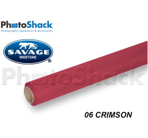 SAVAGE Paper Backdrop Roll - 06 Crimson