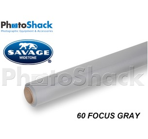 SAVAGE Paper Backdrop Roll - 60 Focus Gray