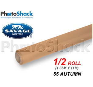 SAVAGE Paper Backdrop Half Roll - 55 Autumn